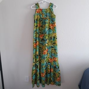 Vintage Penneys Hawaiian house dress cover up